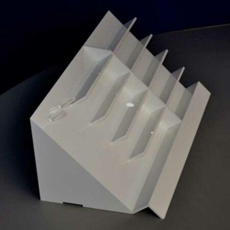 Espositore scaletta plexiglass porta occhiali ludovic for Scaletta decorativa