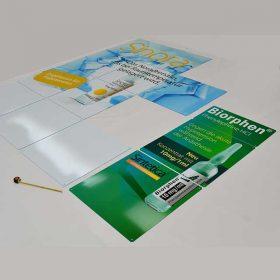 Stampa pannelli plexiglass opal per stand 1