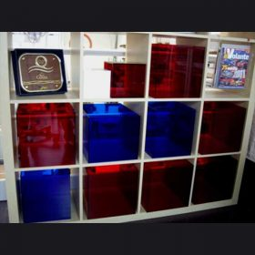 cubi plexiglass complemento mobile Ikea