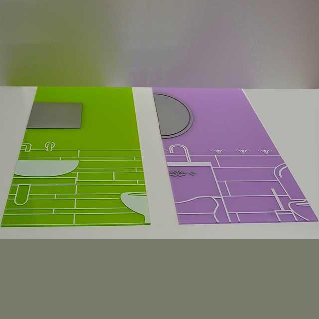 stampa pannelli plexiglass preforati per montaggio 1