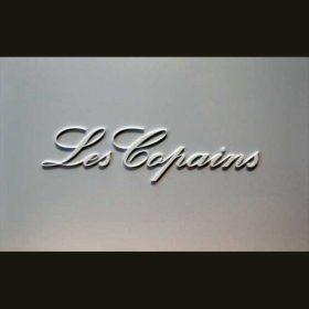 targa plexiglass lettere rilievo Les Copains