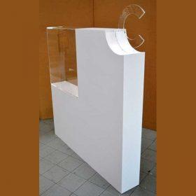 vetrina divisore plexiglass trasparente e pvc