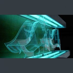 vetrina plexiglass sagomata trasparente