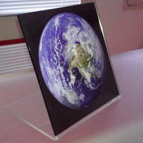 stampa diretta plexiglass piegato globo terrestre