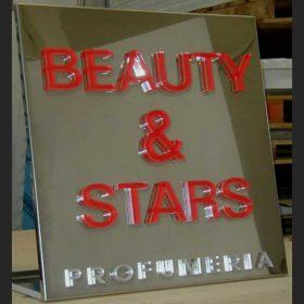 targa alluminio lettere plexiglass a rilievo