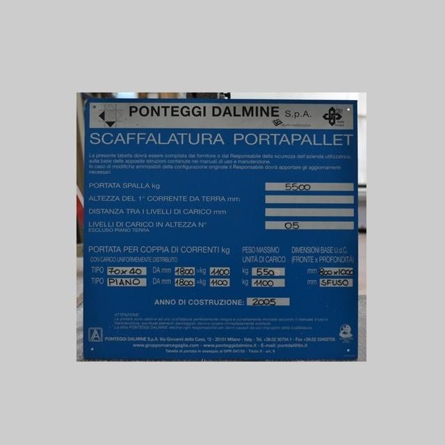 Cartelli di sicurezza per magazzini con stampa