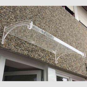 Pensilina plexiglass per esterno