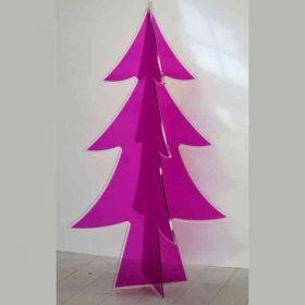 Albero di Natale plexiglass da terra cm 180