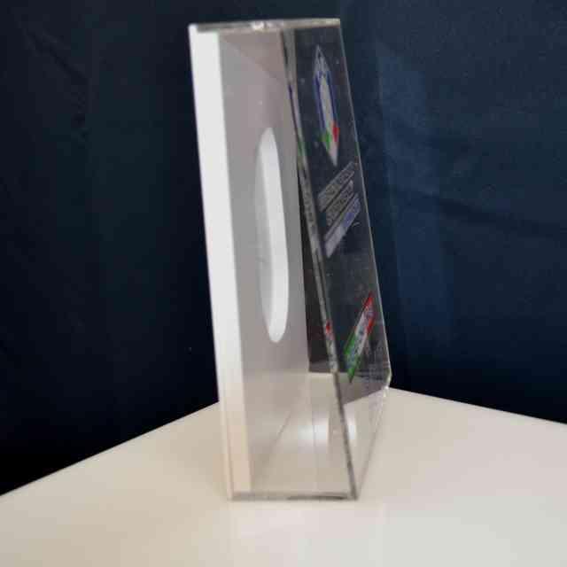 Scatola plexiglass e PVC trofeo premiazione scavo