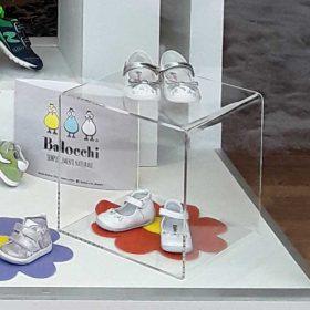 Cubi plexiglass per vetrine Magiche Scarpette