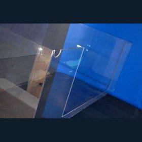 Teca policarbonato per macchina utensile a misura