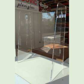 Parafiato plexiglass passacarta smontabile